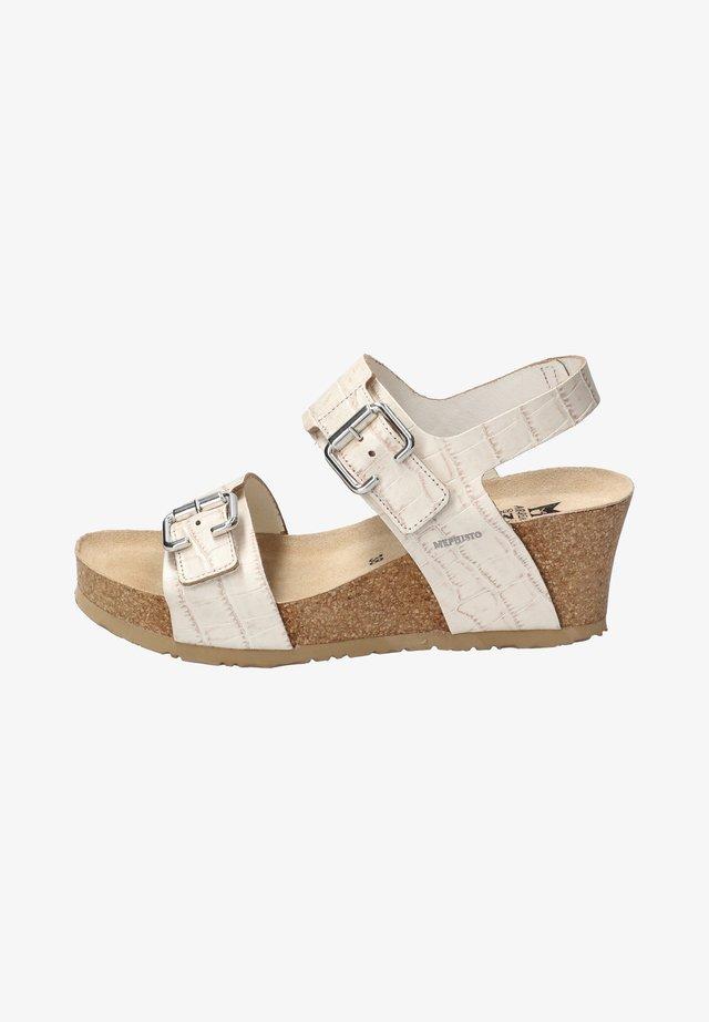 LISSANDRA - Platform sandals - beige