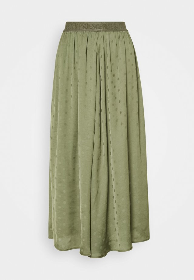 TICK - Pleated skirt - lizard