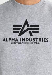 Alpha Industries - BASIC  - Sweatshirt - grey heather - 3