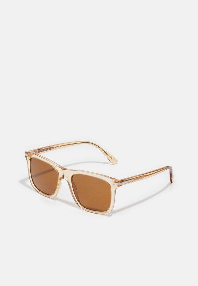 Sunglasses - amber crystal