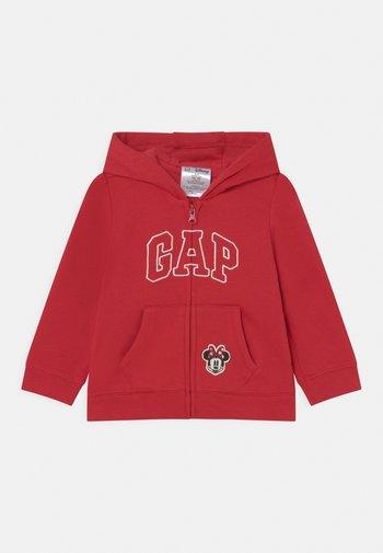 DISNEY MINNIE - MOUSE - Zip-up sweatshirt - modern red