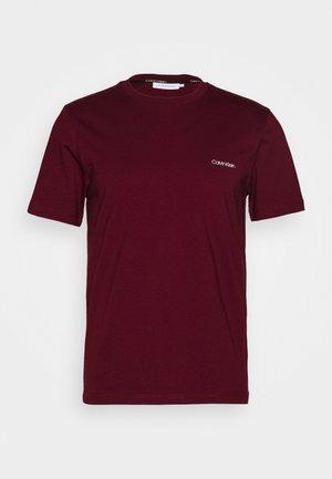 CHEST LOGO - T-shirt - bas - red