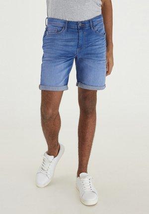 Jeansshorts - denim clear blue