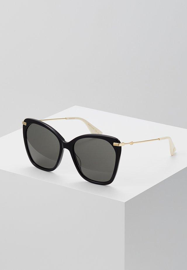 Okulary przeciwsłoneczne - black/gold-coloured/grey