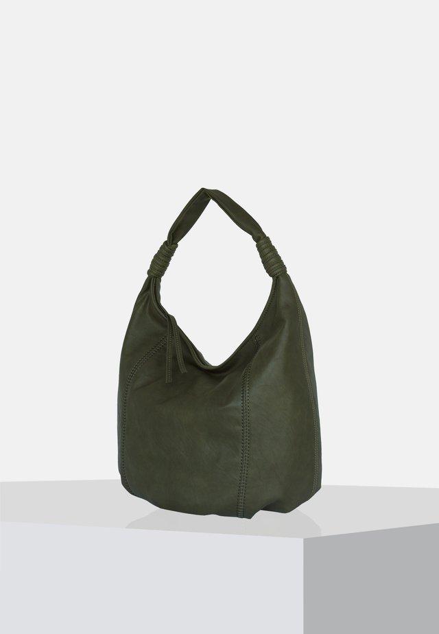 Handväska - olive