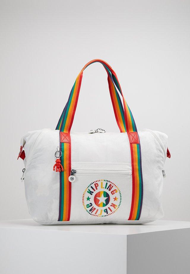 ART M - Bolso shopping - rainbow/white