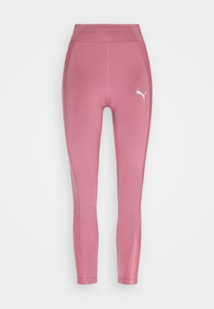 PAMELA REIF X PUMA COLLECTION HIGH WAIST FABRIC BLOCK  - Punčochy - mesa rose