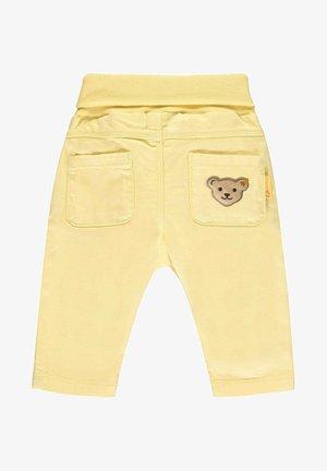 Trousers - yellow cream