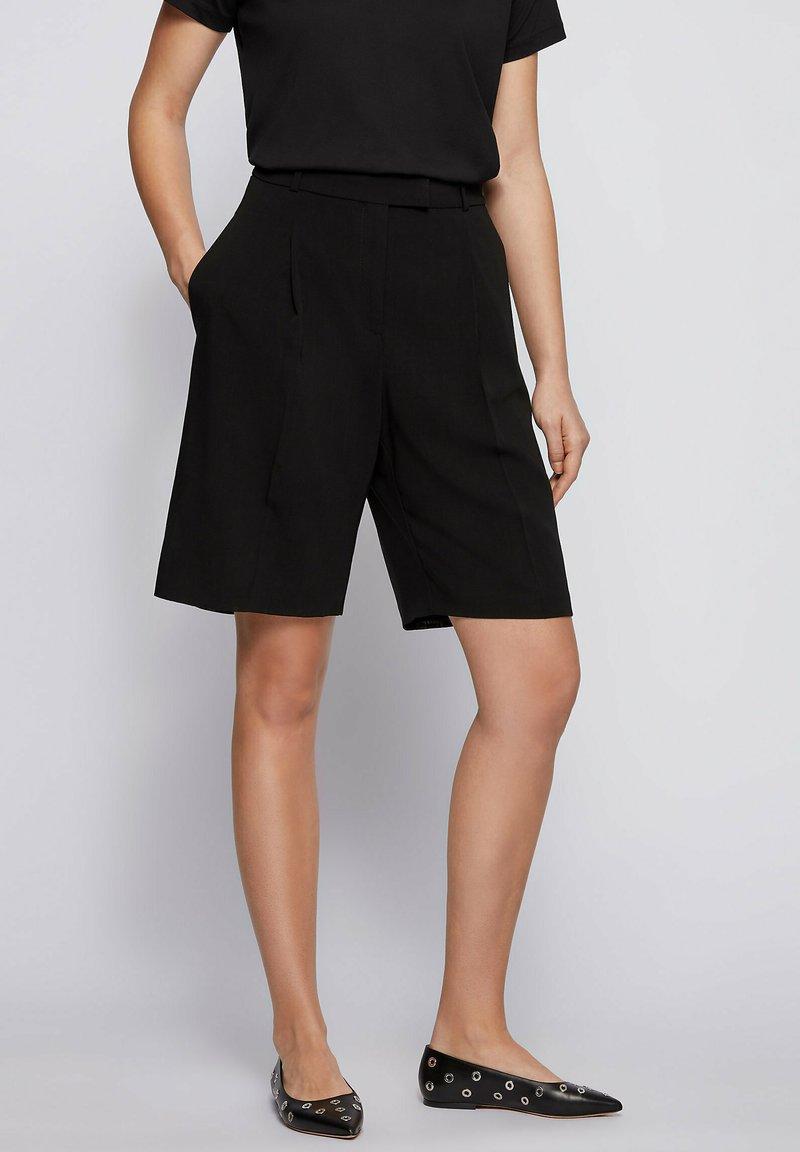 BOSS - TANNAH - Shorts - black