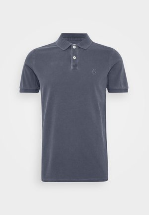 SHORT SLEEVE RIB DETAILS - Polo shirt - total eclipse