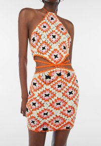 Bershka - Jumper dress - orange - 3