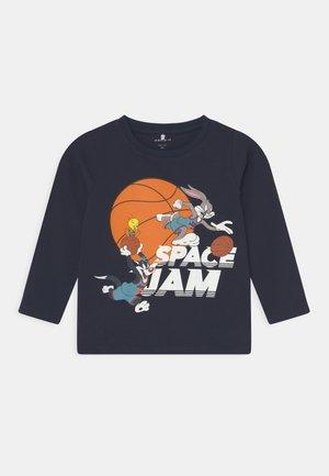 NMMSPACEJAM ARNE  - T-shirt à manches longues - dark sapphire