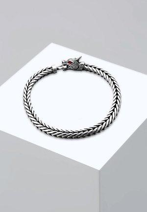 DRAGON - Armband - silver-coloured