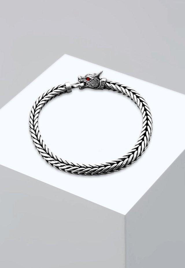 DRACHE - Bracelet - silver-coloured