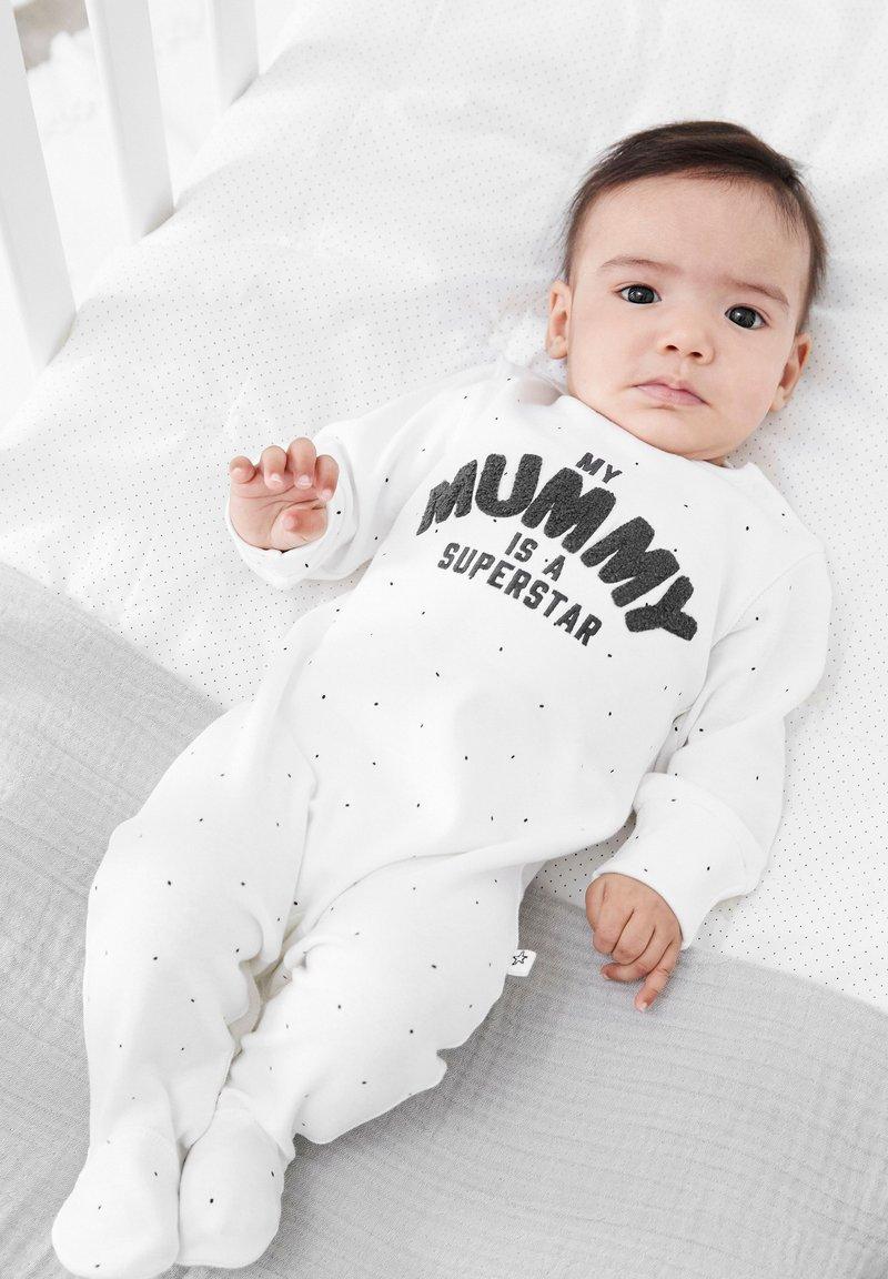 Next - Sleep suit - white