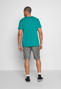 Esprit - LOGO - Print T-shirt - dark turquoise - 2
