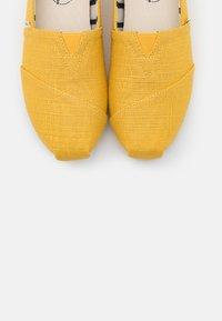 TOMS - ALPARGATA - Slip-ons - yellow - 4