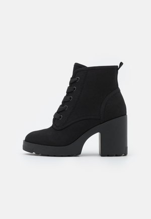 MOLLYY - Lace-up ankle boots - black