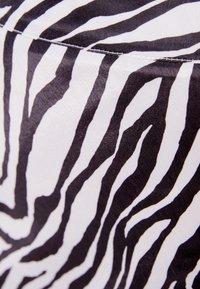 Bershka - Wrap skirt - black - 5