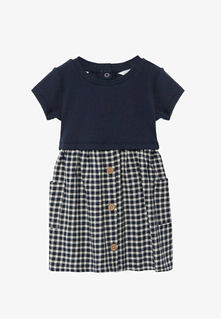 Mango - Day dress - donkermarine