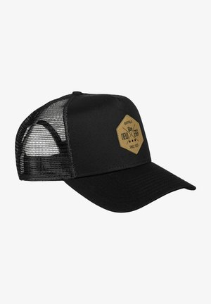 HERITAGE PATCH FORTY TRUCKER - Cap - blk
