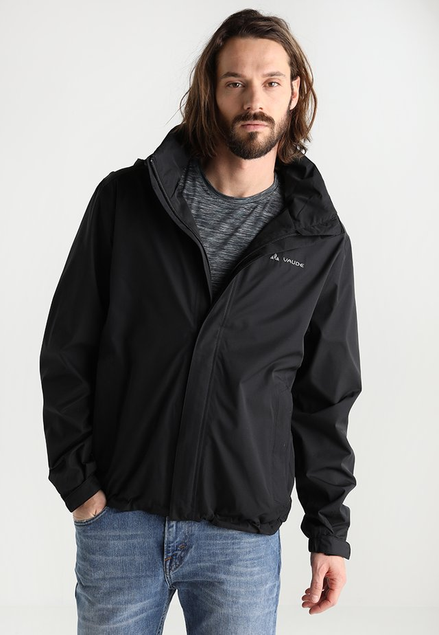 MENS ESCAPE LIGHT JACKET - Hardshelljacka - black