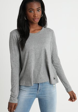 LONG SLEEVES - Langarmshirt - medium grey melange