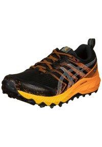 ASICS - Trail running shoes - black / sheet rock - 1
