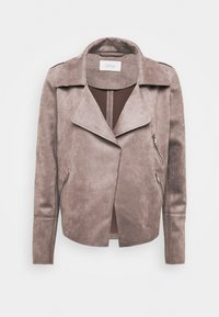 Cartoon - Faux leather jacket - earth grey - 3