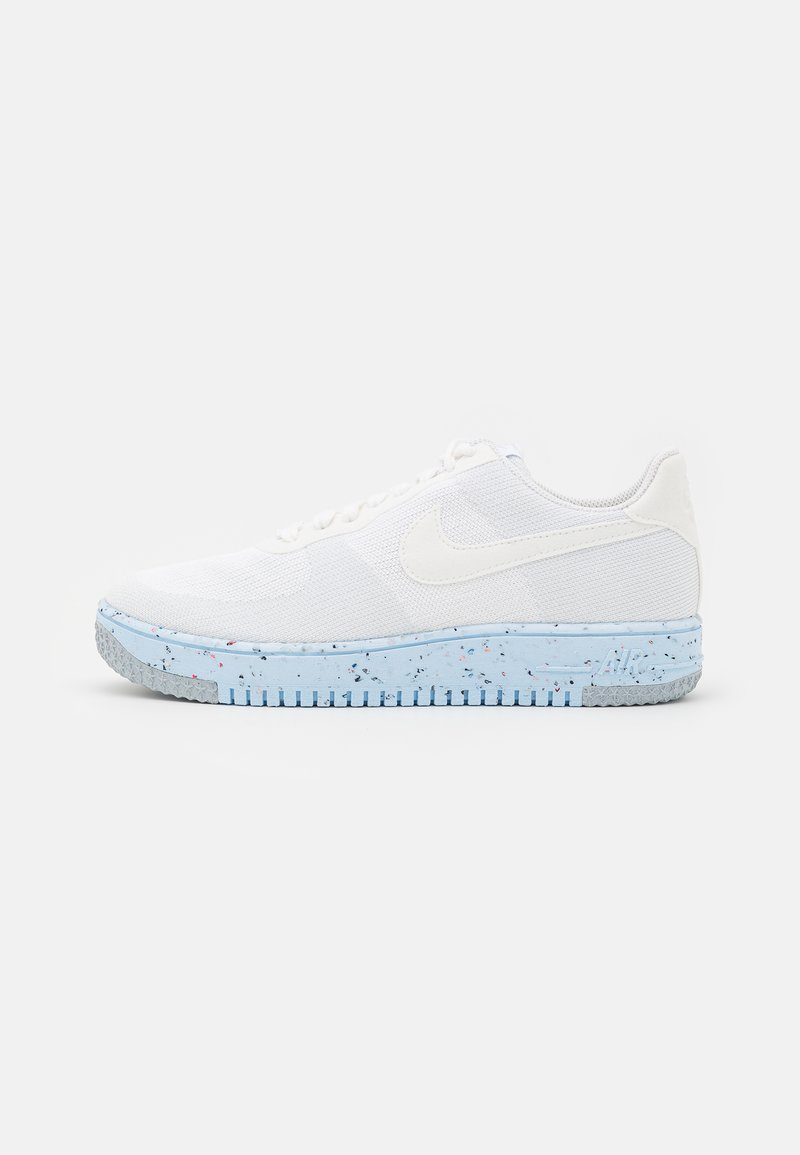 Nike Sportswear - AIR FORCE 1 CRATER - Trainers - white/pure platinum