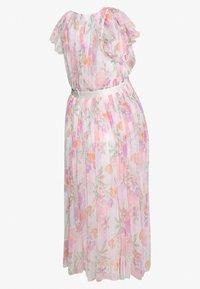 Anaya with love Maternity - DEEP MIDI DRESS WITH WAISTBAND - Day dress - WHITE WATER COLOUR - 5