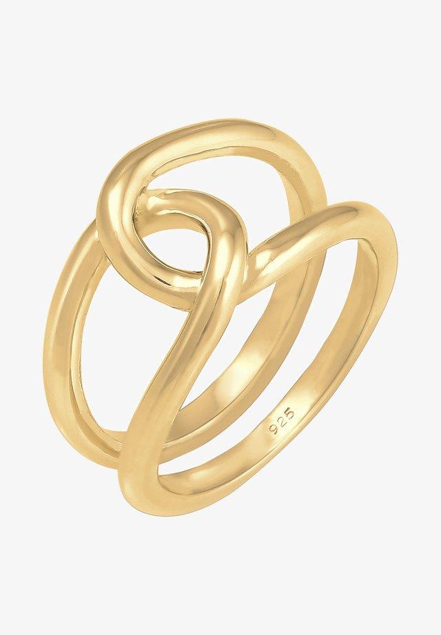 KNOTEN  - Bague - gold-coloured