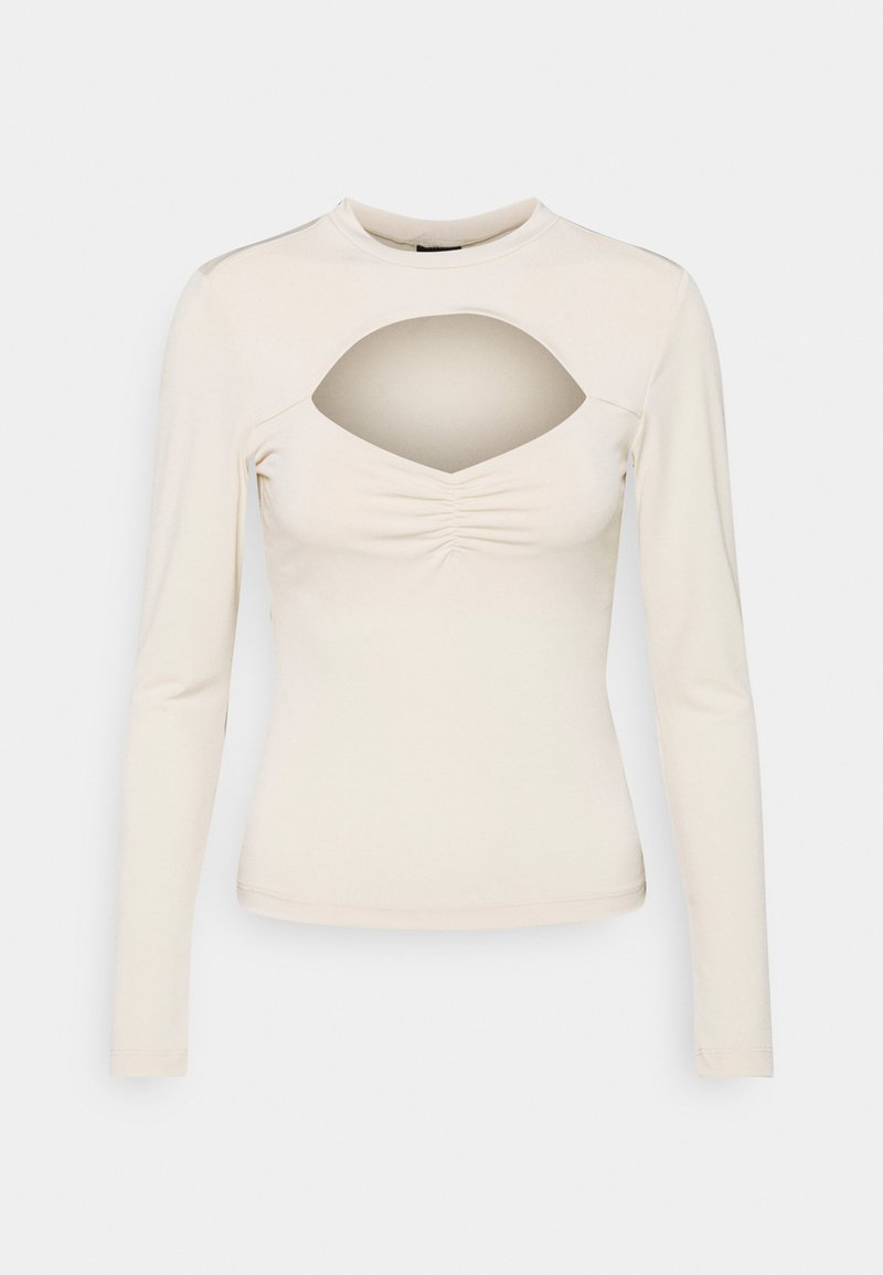 Gina Tricot - HOLLY - T-shirt à manches longues - beige