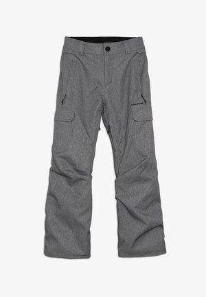 CARGO PANT - Talvihousut - heather grey