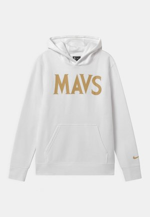 NBA CITY EDITION DALLAS MAVERICKS HOODIE UNISEX - Club wear - white
