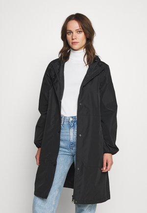 EDITH RAINJACKET - Sadetakki - black