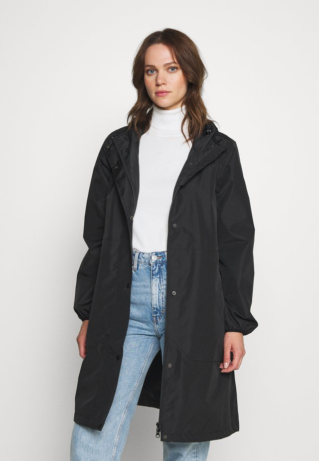 EDITH RAINJACKET - Regnjacka - black