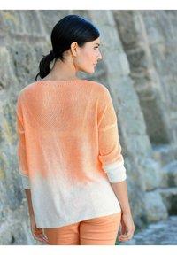 Alba Moda - Long sleeved top - off-white,pfirsich - 3