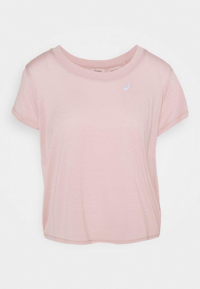 RACE CROP - T-shirt basic - ginger peach
