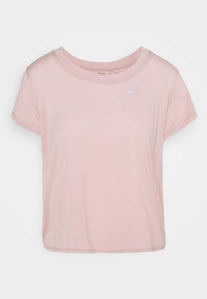 RACE CROP - Camiseta estampada - ginger peach