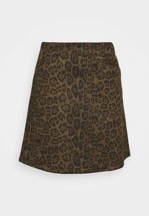 VIFADDY LEO SKIRT - A-line skirt - forest night