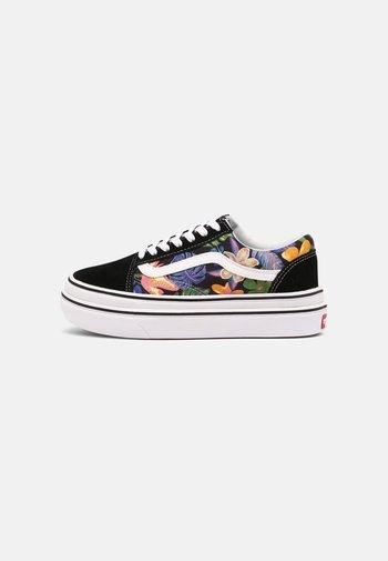 SUPER COMFYCUSH OLD SKOOL - Sneakers laag - tropicali black/true white