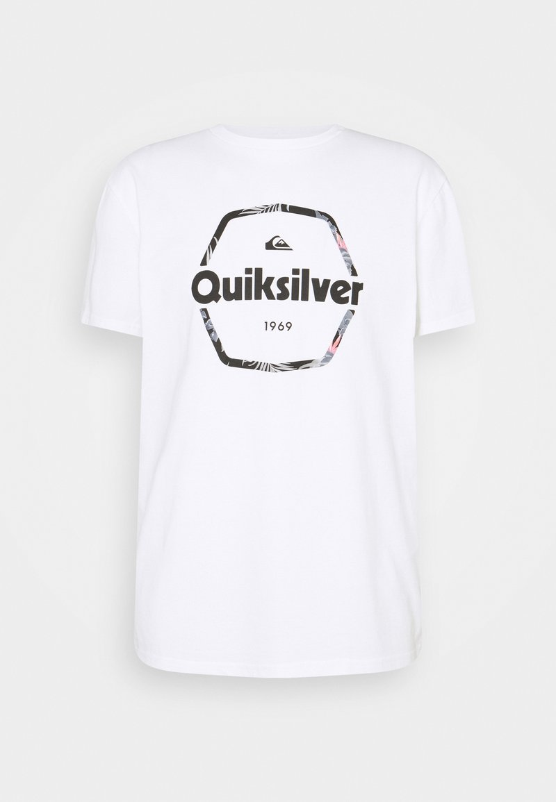 Quiksilver - HARD WIRED  - T-shirt con stampa - white