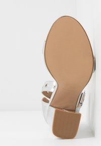 RAID - NARISSA - Sandály na vysokém podpatku - silver - 6