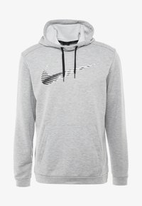 Nike Performance - DRY HOODIE - Hoodie - grey heather - 4