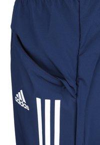 adidas Performance - CONDIVO 20 PRE-MATCH PANTS - Träningsbyxor - navy blue / white - 3