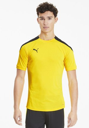 FTBLNXT - T-shirt print - ultra yellow-black