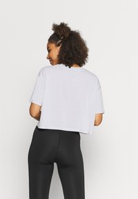 Cotton On Body - RELAXED ACTIVE - Print T-shirt - grey marle/balance - 2