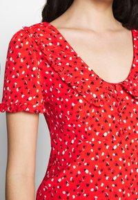 Molly Bracken - LADIES DRESS - Denní šaty - sweet red - 5
