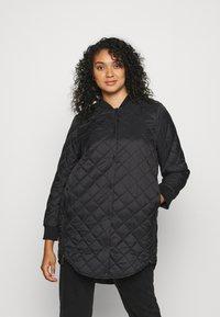 Vero Moda Curve - VMHAYLE 3/4 JACKET CURVE - Short coat - black - 0
